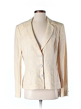 Luca Luca Silk Blazer Size 48 (IT)