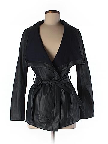 Elie Tahari Leather Jacket Size XS