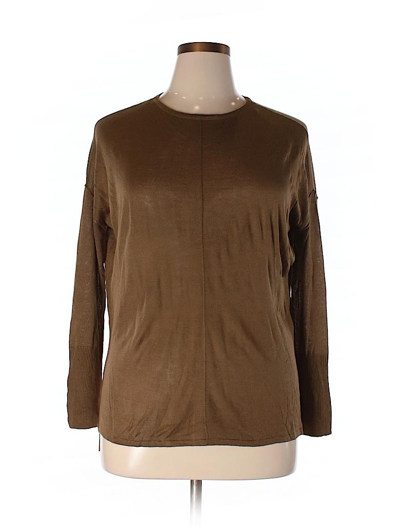 h m solid brown pullover sweater size xs 95 off thredup. Black Bedroom Furniture Sets. Home Design Ideas