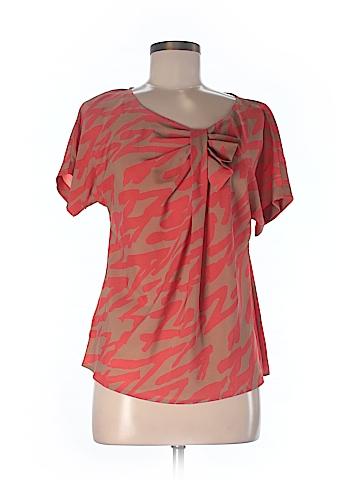 Ann Taylor LOFT Short Sleeve Blouse Size M (Petite)
