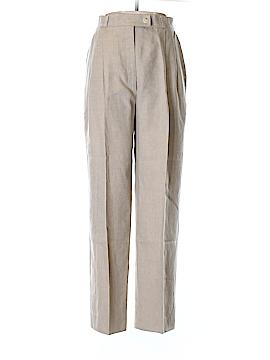 Bernard Zins Linen Pants Size 10