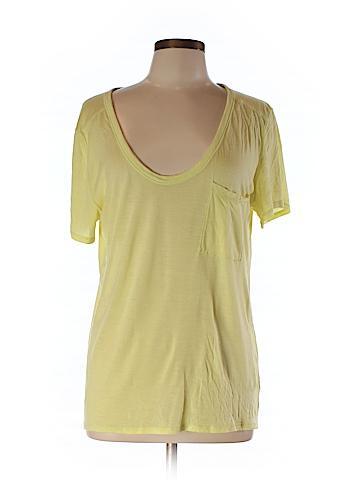 Club Monaco Women Short Sleeve T-Shirt Size L