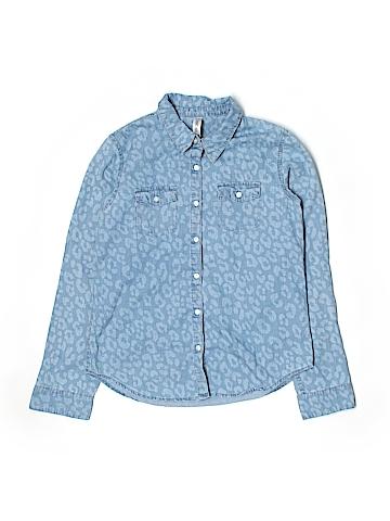 Cherokee Long Sleeve Button-Down Shirt Size 14/16
