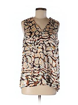 Etcetera Sleeveless Silk Top Size 8
