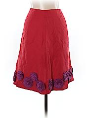 Boden Silk Skirt Size 16