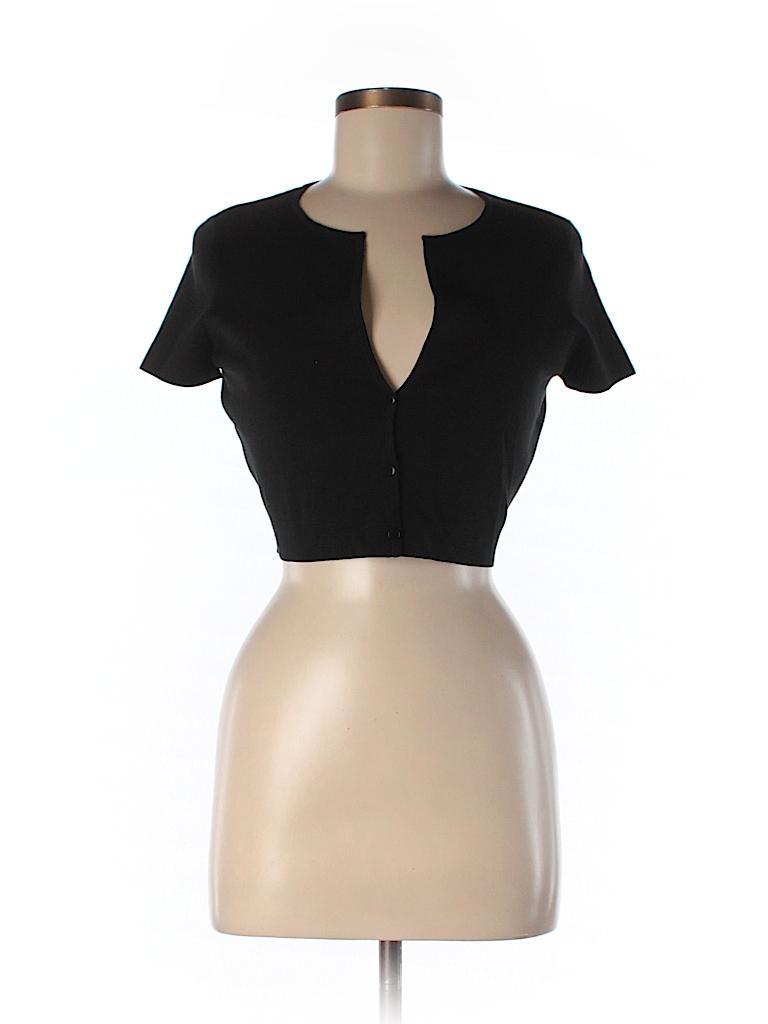 Ann Taylor Women Silk Cardigan Size S