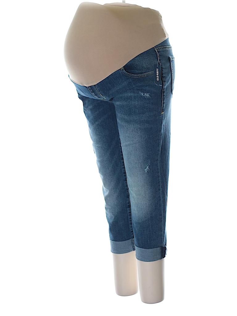 Old Navy - Maternity Women Jeans Size 12 (Maternity)