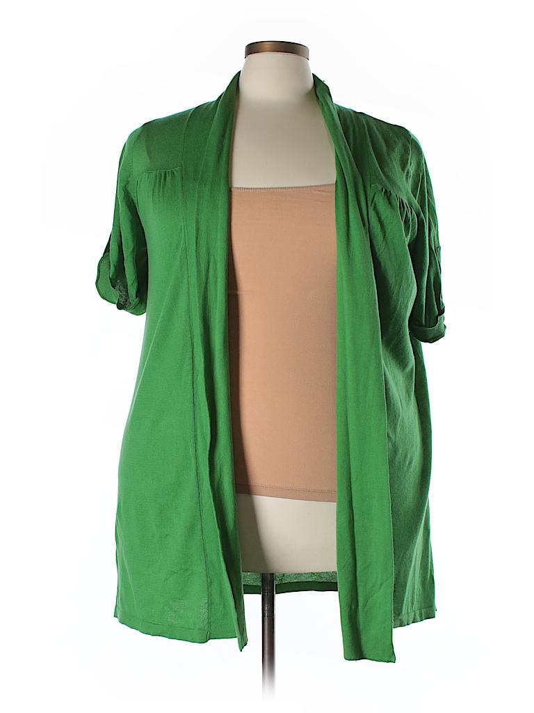 Lane Bryant Outlet Women Cardigan Size 22/24 Plus (Plus)
