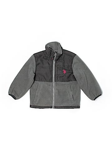 U.S. Polo Assn. Fleece Jacket Size 4