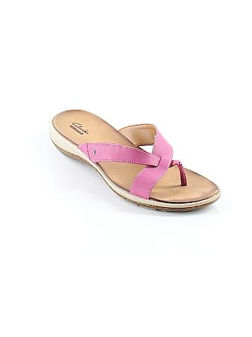 Clarks Flip Flops Size 9 1/2
