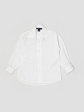 Oscar De La Renta Long Sleeve Button-Down Shirt Size 3