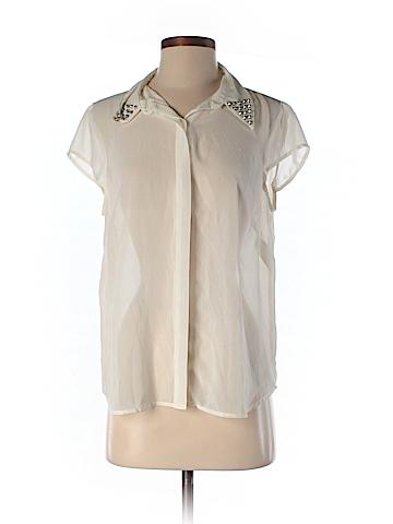 Allen B. by Allen Schwartz Short Sleeve Blouse Size M