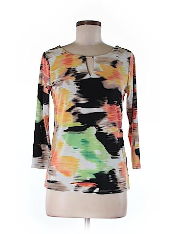 Calvin Klein 3/4 Sleeve Top Size M