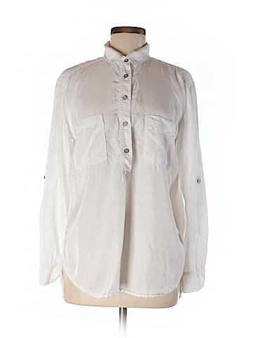 Lou & Grey Women Long Sleeve Blouse Size M