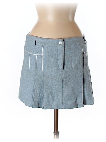Sharagano Women Wool Skirt Size M