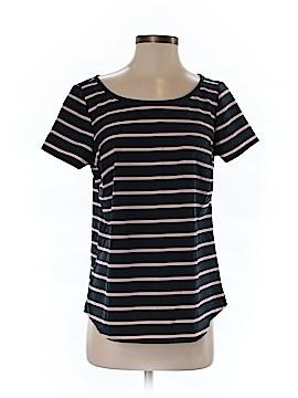 Lands' End Women Short Sleeve Blouse Size 4