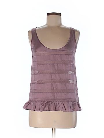 Jack Wills Women Sleeveless Silk Top Size 6