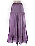 Garnet Hill Women Silk Skirt Size M