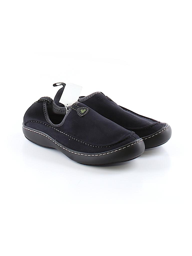 cfd6ec03ce25a Terrasoles Solid Black Flats Size 8 - 58% off