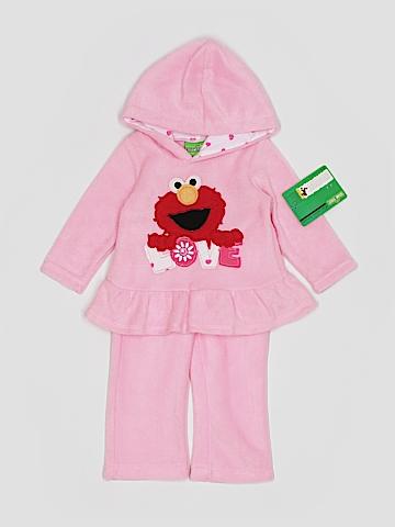 Sesame Street Fleece Jacket Size 12 mo