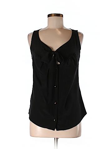 Leona by Lauren Leonard Women Sleeveless Silk Top Size 6