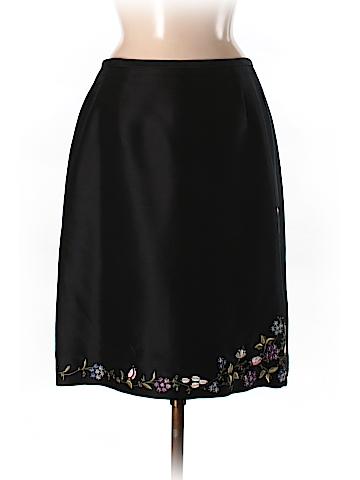 Ann Taylor Women Silk Skirt Size 8
