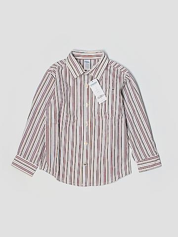 Gymboree Long Sleeve Button-Down Shirt Size 5