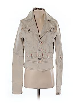 Christopher Blue Denim Jacket Size S