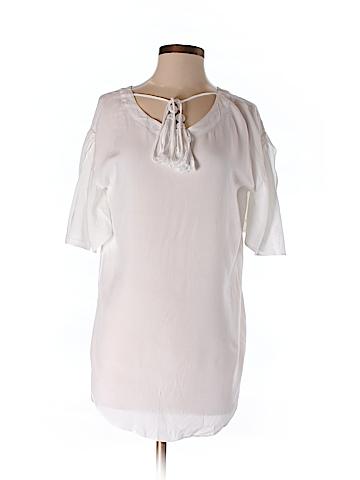 Soft Surroundings Short Sleeve Blouse Size XS