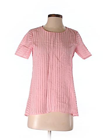 J. Crew Short Sleeve Blouse Size 00