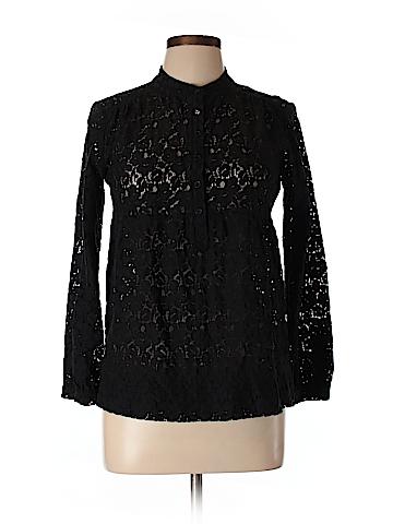MICHAEL Michael Kors Women Long Sleeve Blouse Size M (Petite)