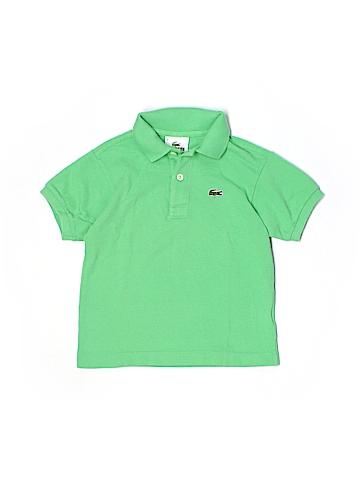 Lacoste Short Sleeve Polo Size 6