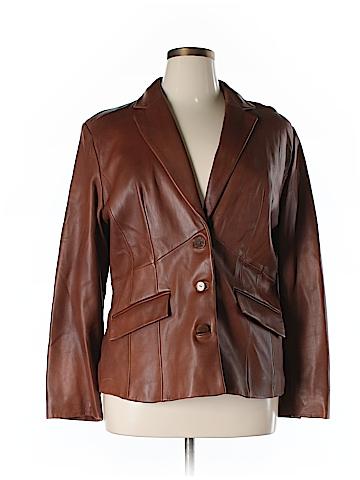 Preston & York Leather Jacket Size XL