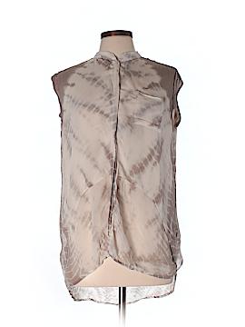 Young Fabulous & Broke Short Sleeve Blouse Size L