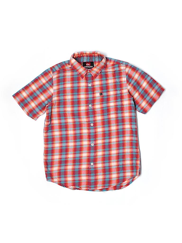 Quiksilver short sleeve button down shirt 51 off only for Bureau quiksilver