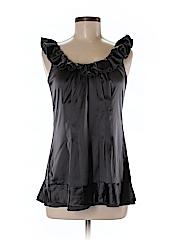 2b Rych Women Short Sleeve Silk Top Size 4