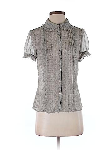 Ann Taylor LOFT Short Sleeve Blouse Size 2