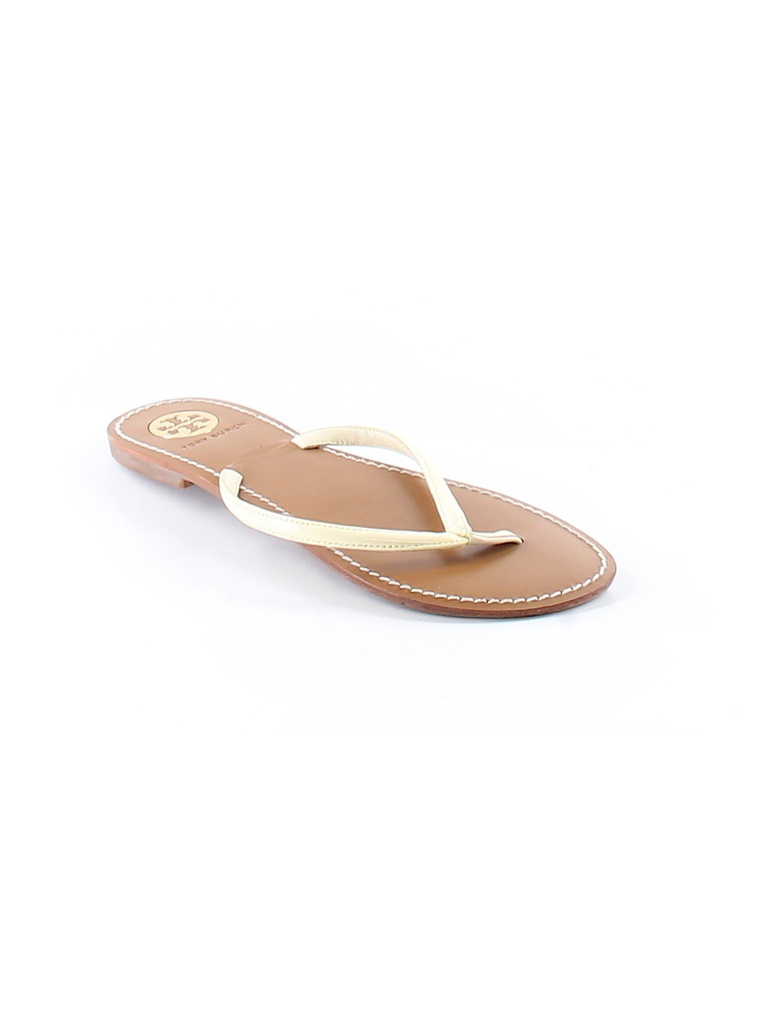 Tory Burch Solid Ivory Flip Flops Size 7 - 68 Off  Thredup-3607