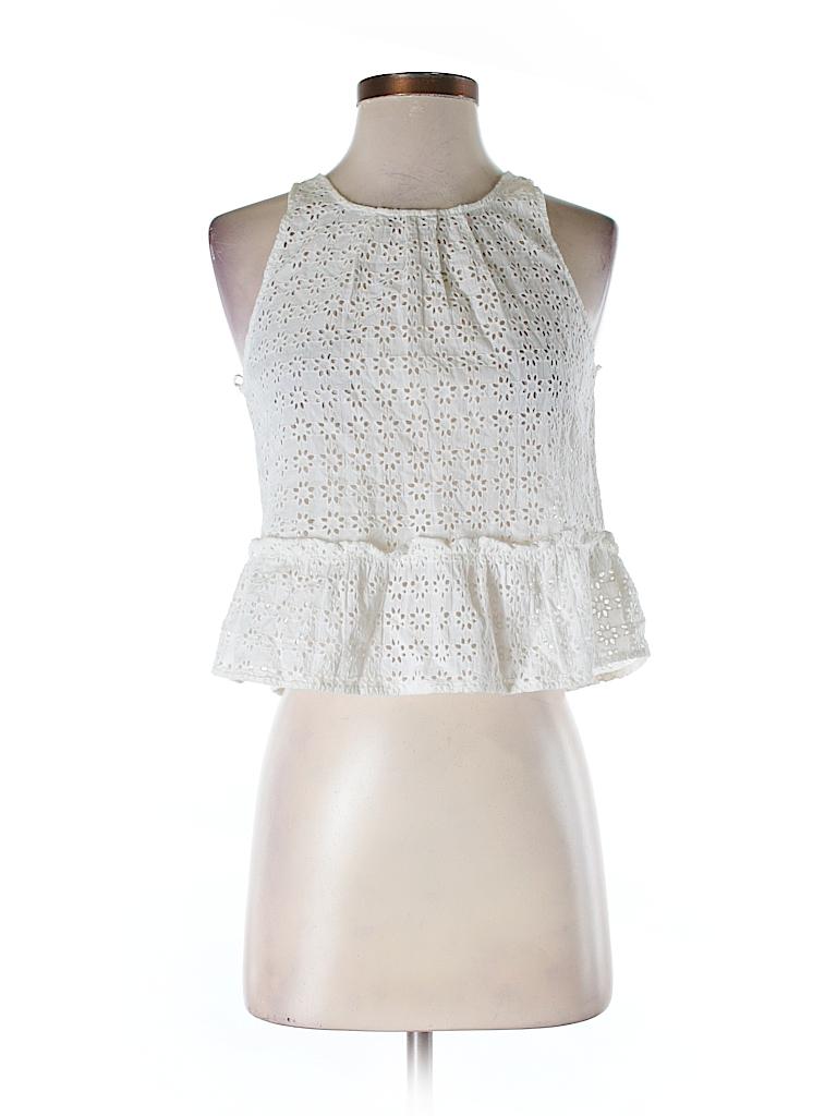 Zara Basic Women Sleeveless Top Size XS