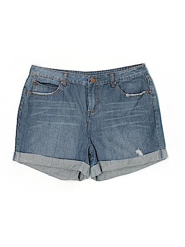 ASOS Curve Denim Shorts Size 14