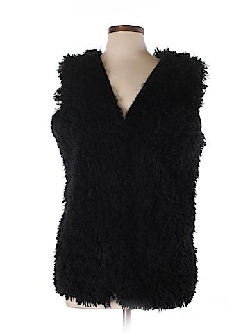 Leon Max Faux Fur Jacket Size L