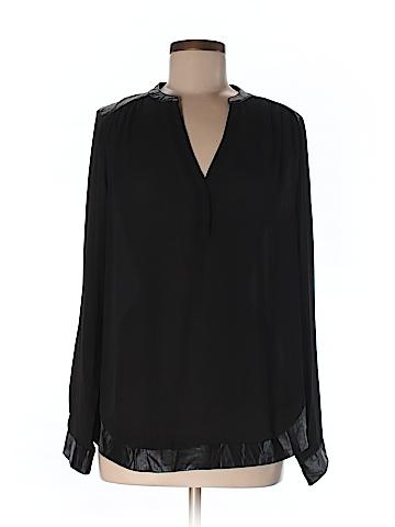 Wells Grace Women Long Sleeve Blouse Size L
