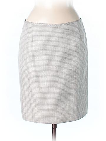 Daniele O by Tahari Levine Casual Skirt Size 8 (Petite)