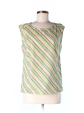 Moncollet Short Sleeve Blouse Size 8