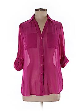 Nicole Miller Long Sleeve Blouse Size M