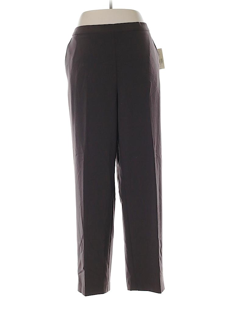 Kim Rogers Women Dress Pants Size 16 (Petite)