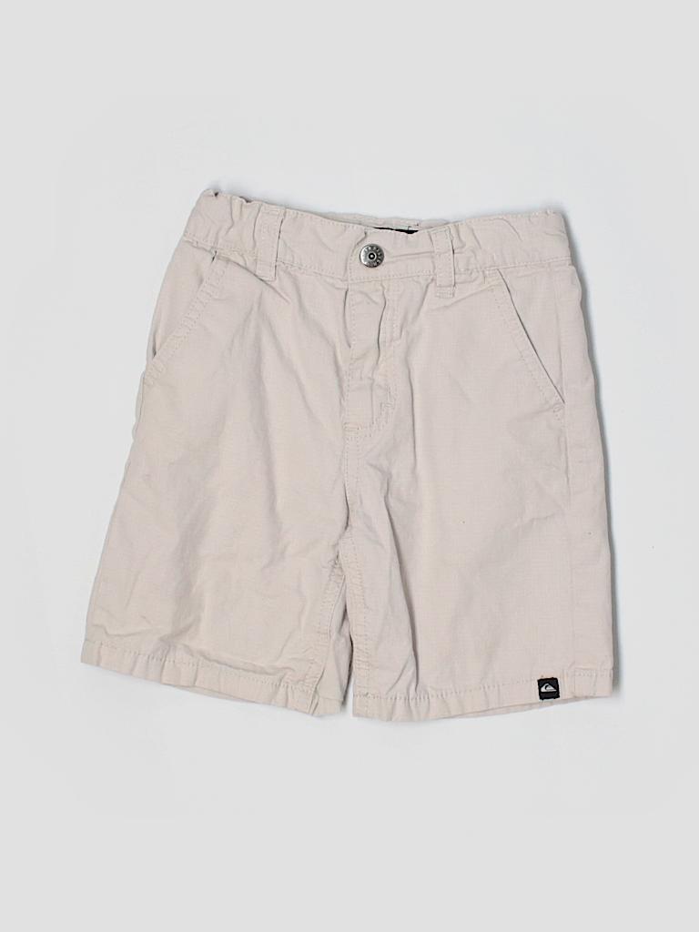 Quiksilver 100 cotton solid tan shorts size 4t 47 off for Bureau quiksilver