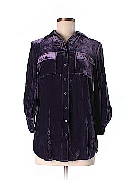 Spiegel 3/4 Sleeve Button-Down Shirt Size 2