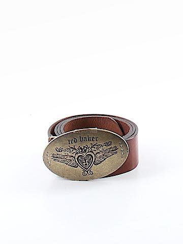 Ted Baker London Leather Belt Size 6 (2)
