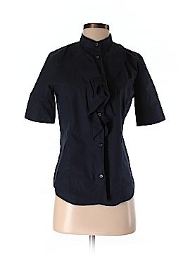 Love Moschino Short Sleeve Button-Down Shirt Size 6
